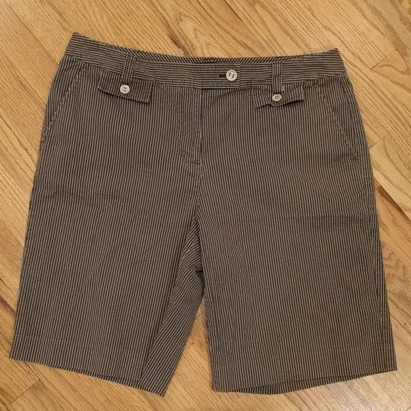 Talbots Pants - Talbot's stretch striped shorts